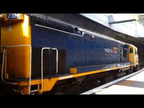 fast train acceleration Turbocharged DFT Locomotive 7104 spooling