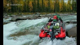 Фильм приключение ПЕРВОПРОХОД #2  Рыбалка Тайга Путешествие и Экстрим на водометных лодках
