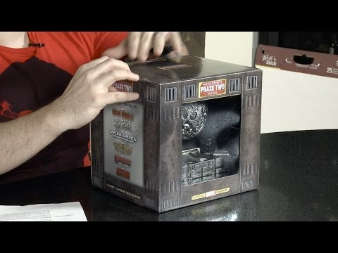 Phase 2 Box Set Unboxing - Marvel Cinematic Universe