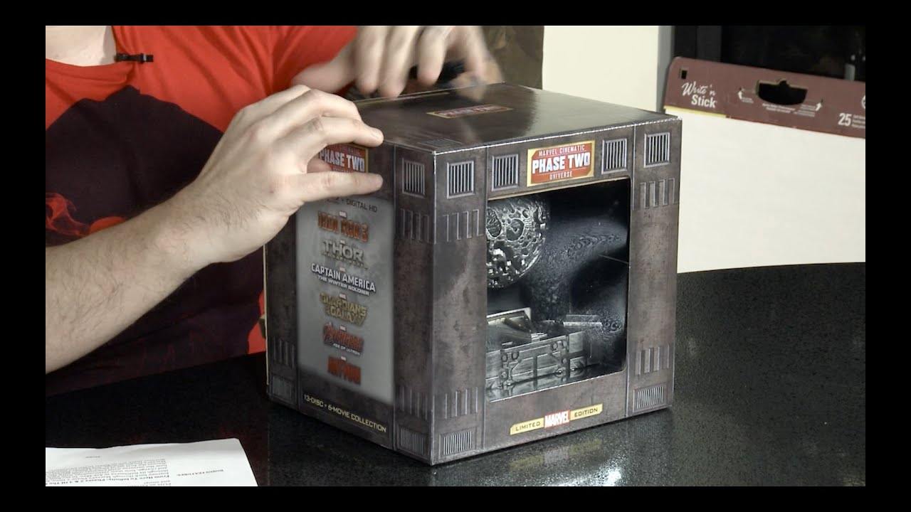 marvel film box set
