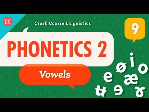 Crash Course Linguistics #9 - VowelsIn English, we have 5 (well,...