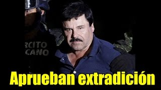 Juez autoriza extradición de El Chapo a EU