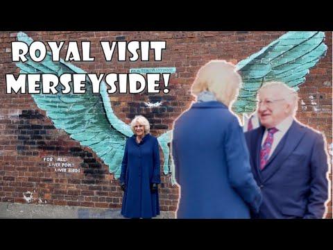 Prince Charles & Duchess Camilla Meet Irish President Michael D Higgins! Royal Visit Merseyside 2019 Mp3