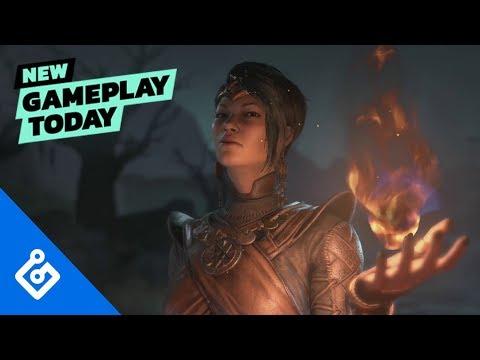 Diablo 4 - 10-минутный геймплей за Волшебницу