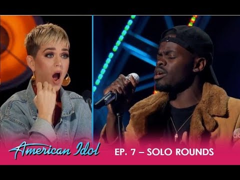 Ron Bultongez: Congo Refugee Moves Katy Perry With EMOTIONAL 'Home' | American Idol 2018