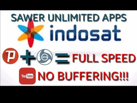 INDOSAT SAWER UNLIMITED APPS