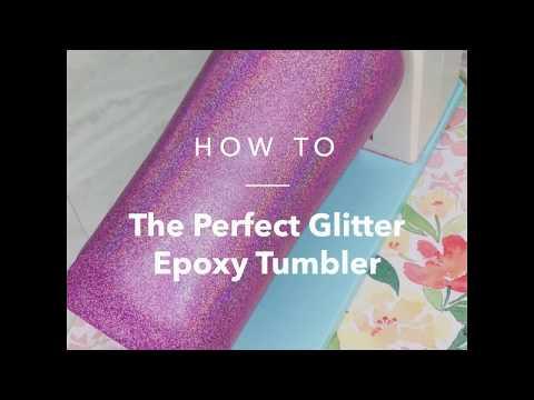 Easy Glitter Epoxy Tumbler