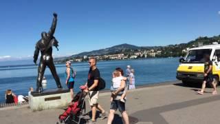 Швейцария - Монтре - Женевское озеро - Шильонский замок(Швейцария, Монтрё. Погулял по городу, посмотрел Женевское озеро (с французской стороны его называют озеро..., 2016-09-28T19:59:27.000Z)