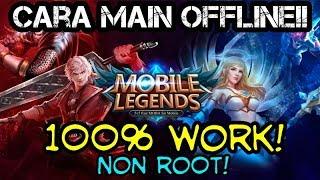 CARA MAIN MOBILE LEGEND OFFLINE! 100% WORK