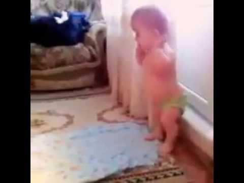 Small Baby Praying Namaz With Takbeer Very Cute MashAllah