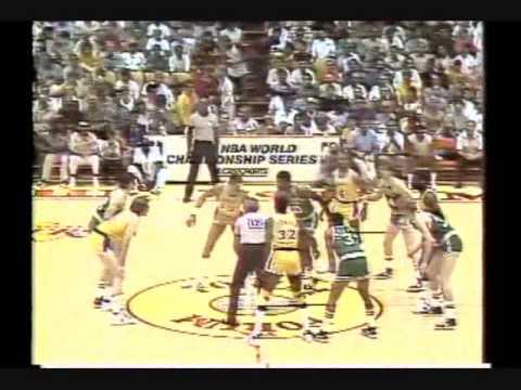 1985 NBA Finals: Celtics at Lakers, Gm 3 part 1/12