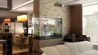 видео Интерьер деревенского дома с печкой, с фото: гостиная, зал, кухня