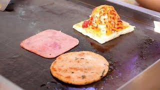 Seafood Ham Cheese Toast - Vietnam street food