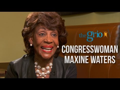 "True Story: Maxine Waters Talks Politics, Feminism & Being ""Auntie Maxine"""