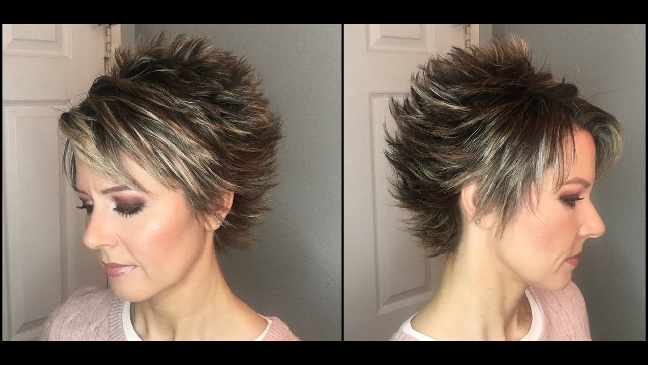 Hair Tutorial Change Up Your Pixie Cut By Styling It This