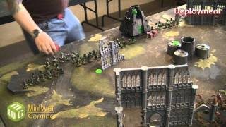 Necrons vs Tyranids Warhammer 40k Battle Report - Part 1/4 - Beat Matt Batrep