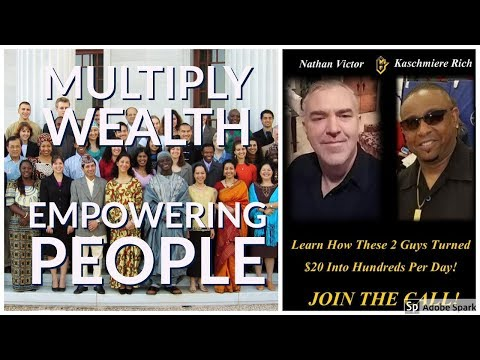 Multiply wealth building up people, earn Bitcoin, ect TODAY!!!