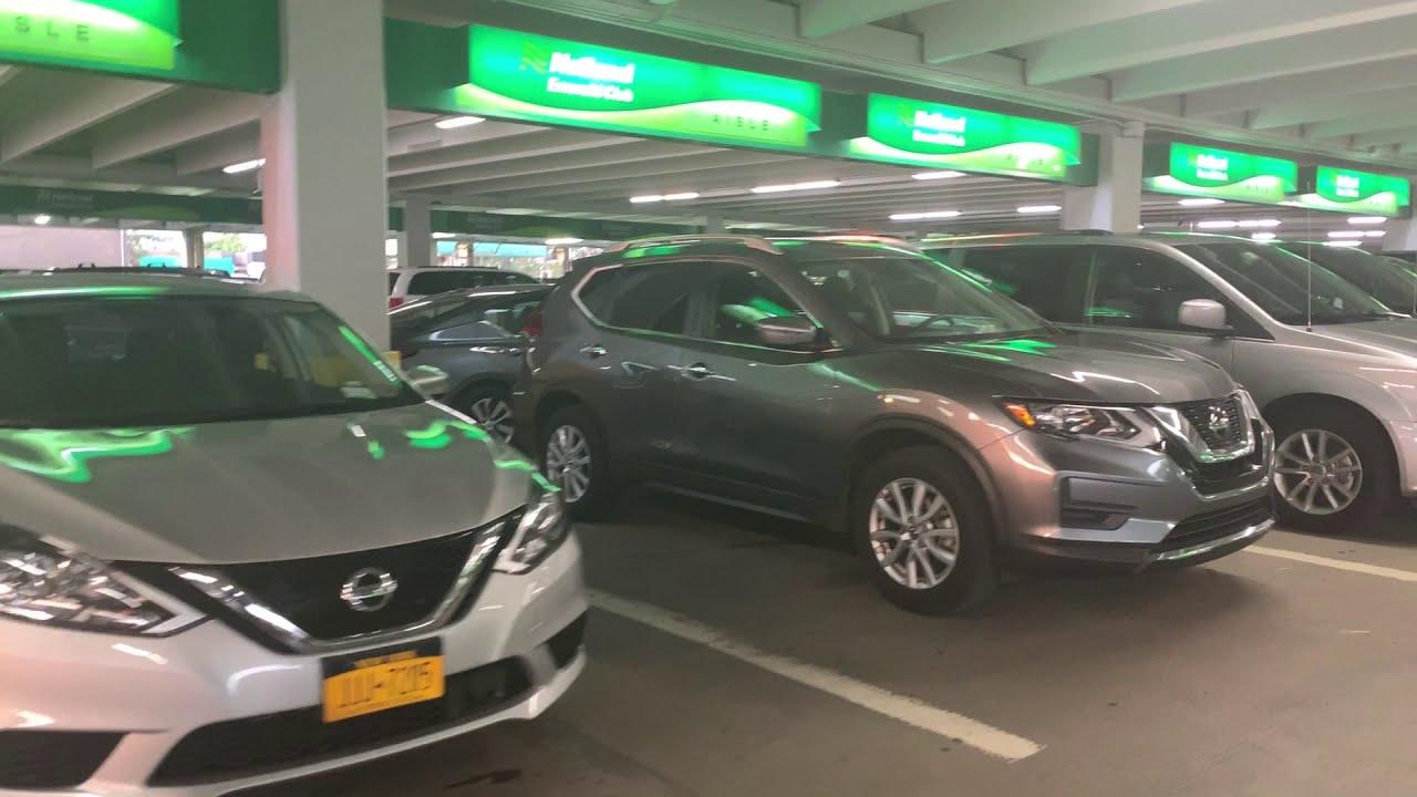 National Car Rental Emerald Club At Ewr New Jersey New York July 30 2019 7pm