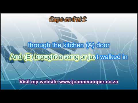 The Trumpet Vine with chords, lyrics and vocal for guitar and ...