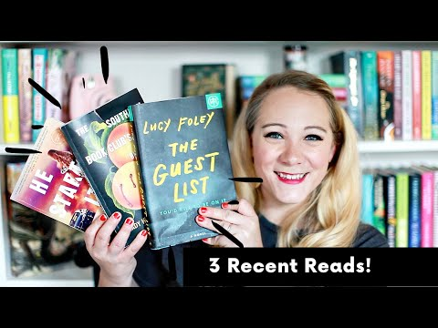 3 RECENT READS| MYSTERY/THRILLER EDITION!