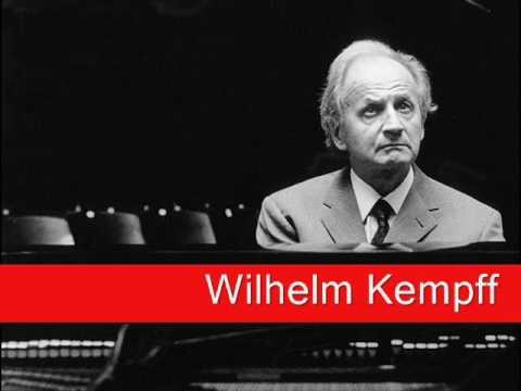 Wilhelm Kempff: Schubert - Impromptus No. 1 in C minor, Op. 90 D 899