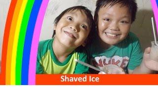 Shaved Ice | 食べるアイス | Makan Es Serut Di Taburin Nutrisari Dan Nabati Snack