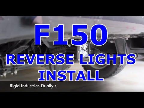2011 F150 Reverse Flood Light Install  YouTube