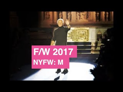 Joseph Abboud Fall / Winter 2017 Backstage Interview | Global Fashion News
