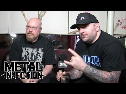 Celebrity Chef CHRIS SANTOS and Metal Blade's BRIAN SLAGEL Interview| Metal Injection