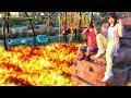 溶岩 噴火!!? 公園で遊べない!! マグマ おゆうぎ こうくんねみちゃん floor is lava challenge in park Pretend play
