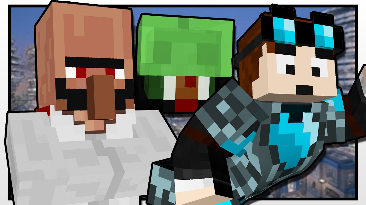 Minecraft Tdm Superheroes Custom Mod Adventure Youtube