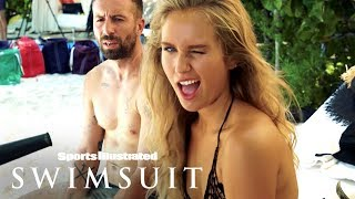 Sailor Brinkley Cook Lets Loose On A Surfboard On Set | Outtakes | Sports Illustrated Swimsuit