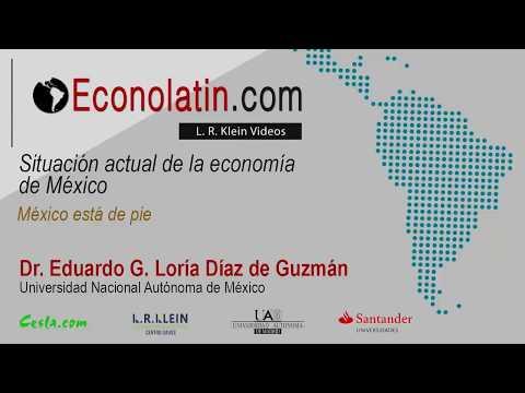 Situación actual de la  economía de México en 2017. Actualizado en octubre de 2017.