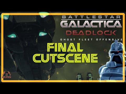 Battlestar Galactica DEADLOCK GHOST FLEET OFFENSIVE Final Cut Scene