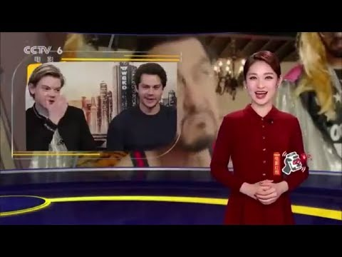 The Death Cure Cast Interview with CCTV 6 Movies