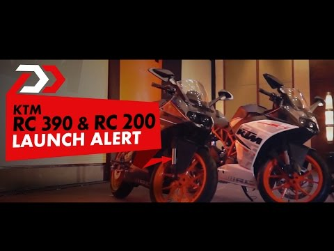 KTM RC 200 AND 390 Launched Review
