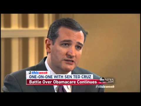 Ted Cruz: Putin in Ukraine is Obama's Fault, Can Still Repeal Obamacare