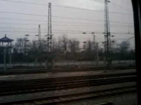 Colombiano en el tren bala , China.