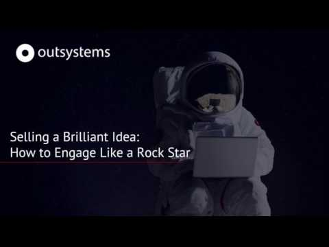 Selling a Brilliant Idea: How to Engage Like a Rock Star