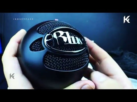 Blue Microphones Snowball Black iCE Condenser Microphone [review]
