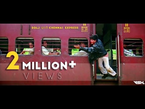 DDLJ And CHENNAI EXPRESS Train Scenes  | Shah Rukh Khan | FAN EDIT