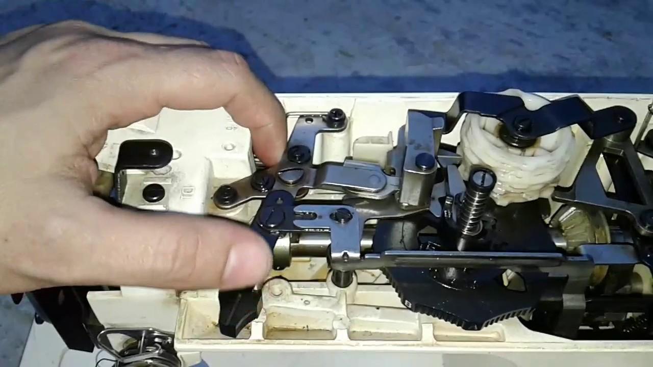 La maquina de coser NO hace ZIG ZAG ( adelanto ) - YouTube