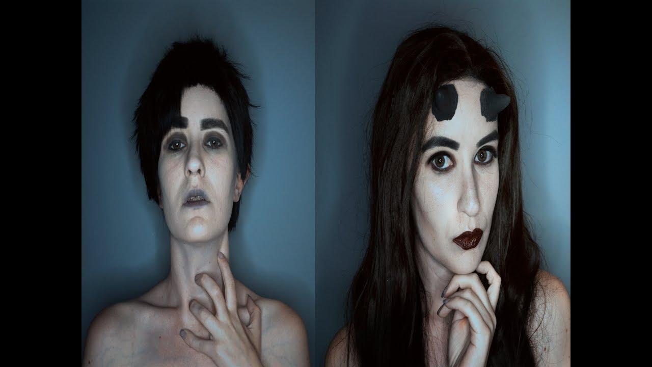 Incubus+Succubus Makeup Tutorial - YouTube