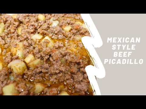 Beef Picadillo with