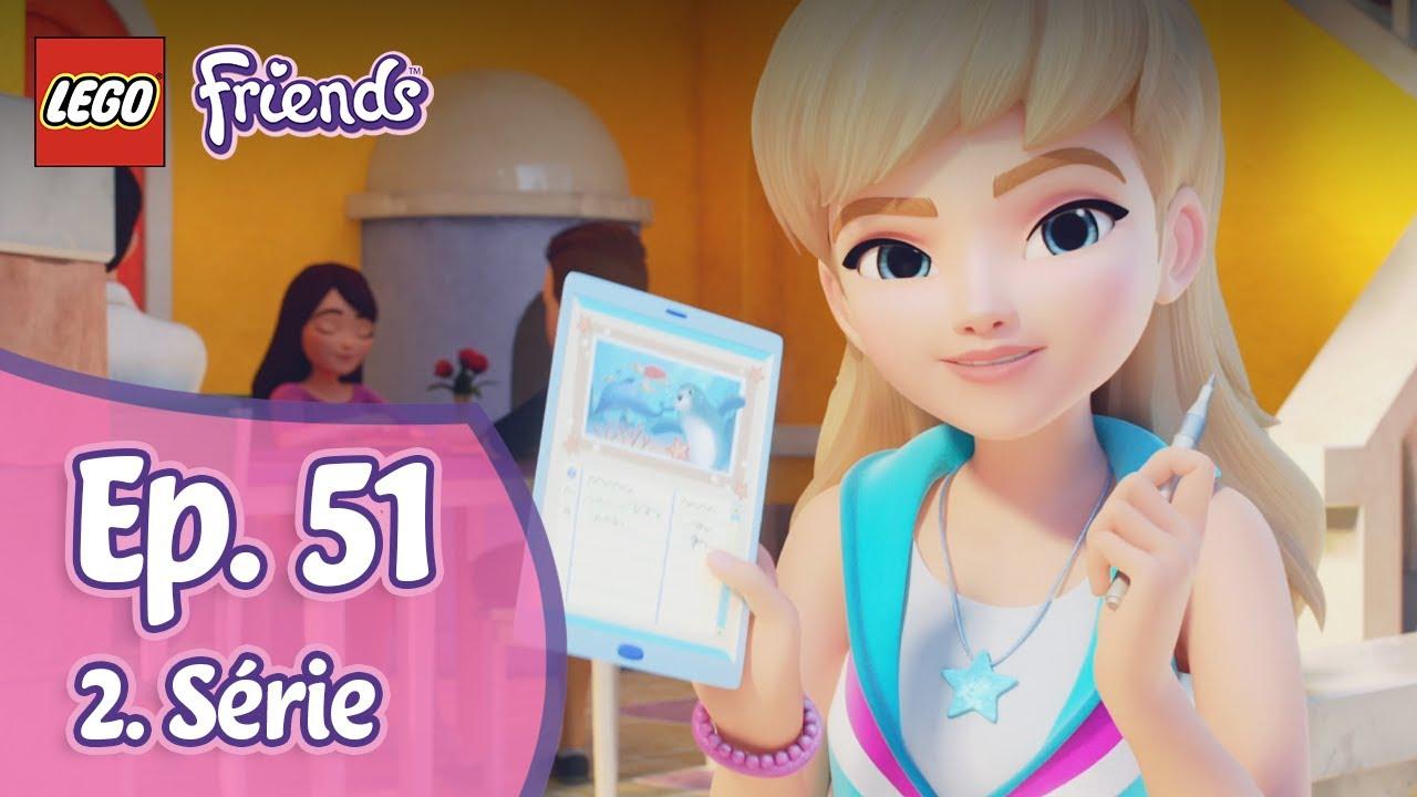 Petice 📋 51. díl, 2. série   LEGO FRIENDS: Dívky na misi