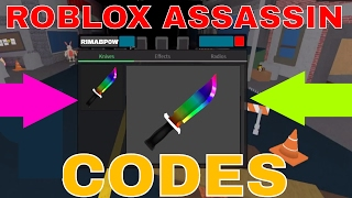 Roblox Assassin Codes - Codes for Knives 2017 - Roblox Assassin Codes - Assassin Roblox Codes