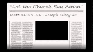 Video Joseph Ellzey Jr - Matthew 16:13-16  @ Emmanuel Baptist Church download MP3, 3GP, MP4, WEBM, AVI, FLV Desember 2017