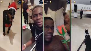 Kevin Hart Is A Fool LMAO! Getting On Wife Nerves And Complains About His Spoiled Dog