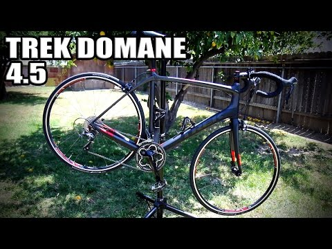 My Trek Domane 4.5 And My Weight Loss