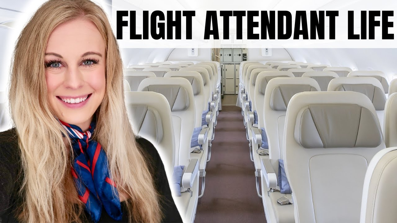 A WEEKEND IN MY LIFE AS A FLIGHT ATTENDANT!